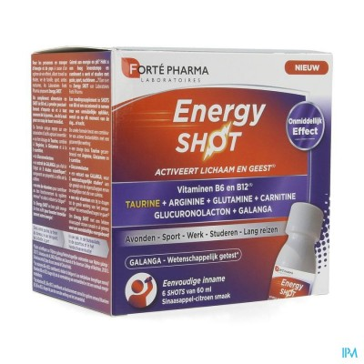 Energy Shot 6x60ml