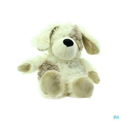Warmies Kersenpitkussen Mini Hond Wit Bruin