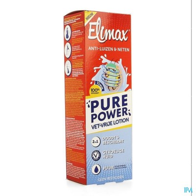 Elimax Pure Power Lotion Fl 100ml