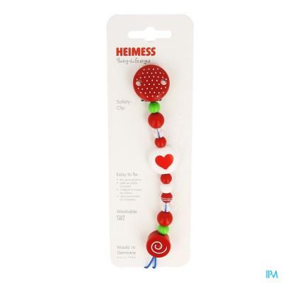 Heimess Attache Sucette Plastc Coeur H732610