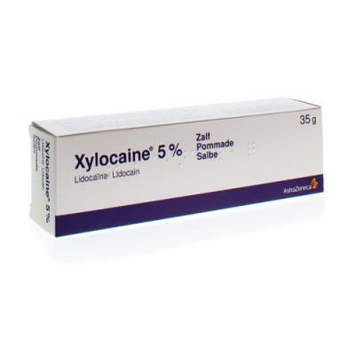 XYLOCAINE UNG. 35 G 5 %