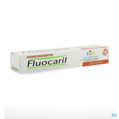 Fluocaril Tandpasta Kids Aardbei 50ml Nf