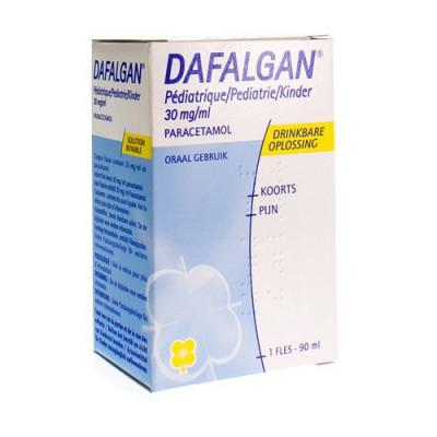 DAFALGAN SIROP PED 1 FL 90 ML