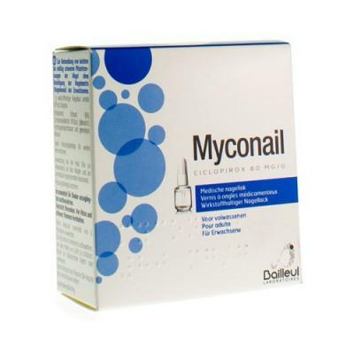MYCONAIL 80MG/G VERNIS ONGLES MEDICAL FL 6,6 ML