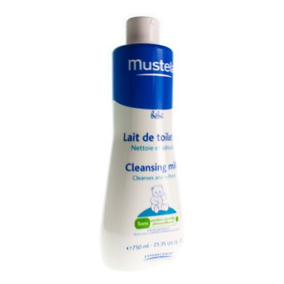 MUSTELA BB LAIT DE TOILETTE FL 750ML