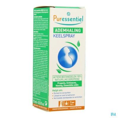 Puressentiel Respiratoire Spray Gorge 15ml