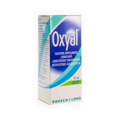 OXYAL SOLUTION OPHTALMIQUE LUBRIFIANTE 0,15% 10ML