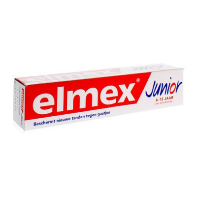 ELMEX JUNIOR DENTIFRICE 6-12ANS 75ML