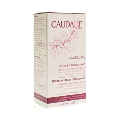 Caudalie Vinosource Serum Sos Verfris.dh Tube 30ml