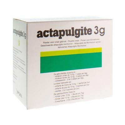 ACTAPULGITE PULV SACH 30 X 3 G