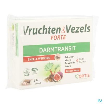 Ortis Fruits & Fibres Forte Cubes 24