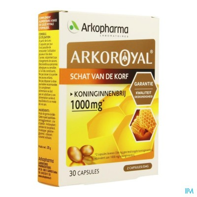 ARKOROYAL GELEE ROYALE BLISTER CAPS 2 X 15