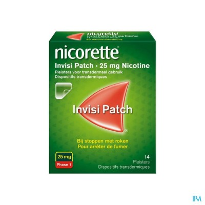 NICORETTE INVISI 25 MG PATCH 14
