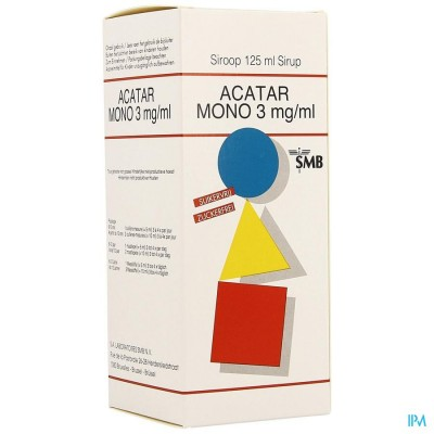Acatar Mono 3mg/ml Sirop 125ml