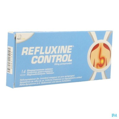 Refluxine Control 20mg Gastro Resist Comp 14x20mg