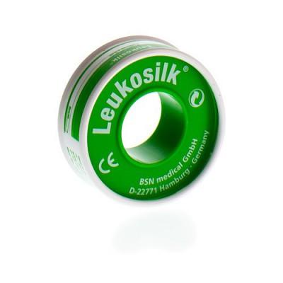 LEUKOSILK FOURREAU SPARADRAP 1,25CMX5M 1 0102100