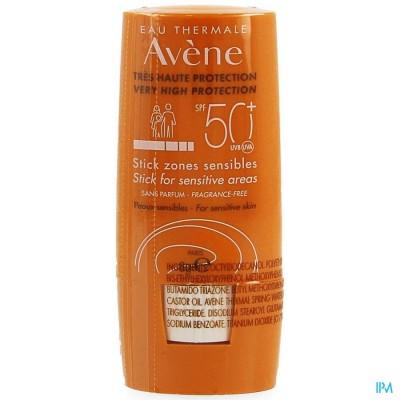 Avene Sol Ip50+ Stick Zones Sensibles 8ml