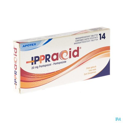Ippracid 20mg Gastro Resist Comp 14