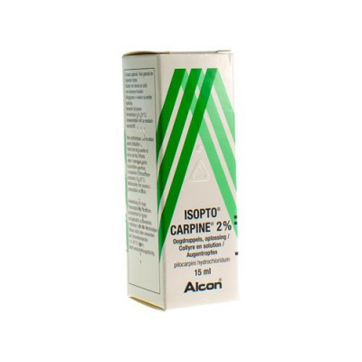 ISOPTO CARPINE 2 % COLLYRE 15ML