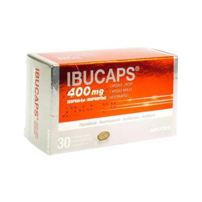 IBUCAPS APOTEX 400MG CAPS DOUX 30