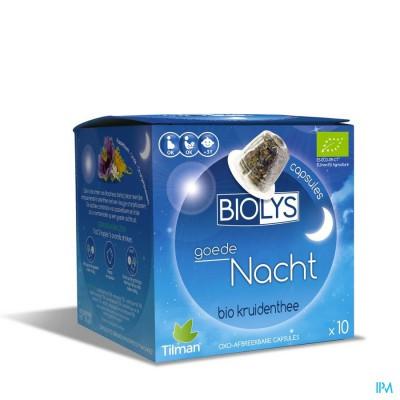 BIOLYS BONNE NUIT CAPS 10