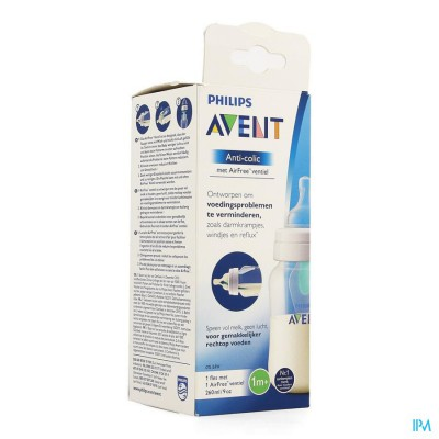 Philips Avent A/colic Zuigfles 260ml Scf813/14