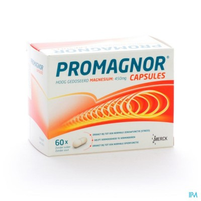 Promagnor Caps 60x450mg