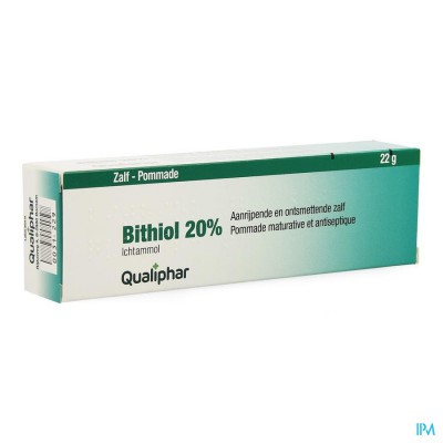 Bithiol 20% Ung. 22g Qualiphar
