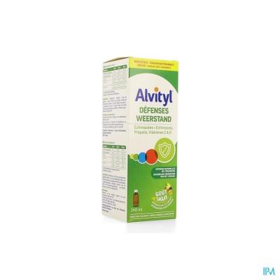Alvityl Weerstand Siroop 240ml Nf
