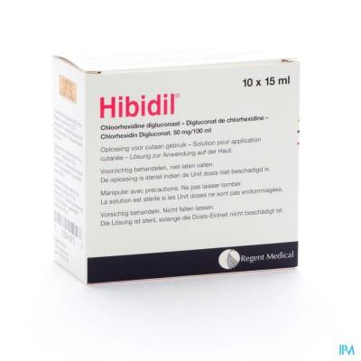 Hibidil Sol 10x15ml Ud Bottelpack