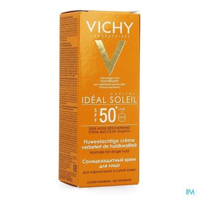 Vichy Cap Sol Ip50+ Cr Vis Peau Sens Ps 50ml