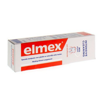 ELMEX INTENSIVE CLEANING DENTIFRICE TUBE 50ML