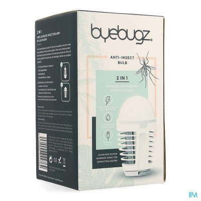 BYEBUGZ A/INSECTS BULB DRAADLOZE LAMP ZAPPER