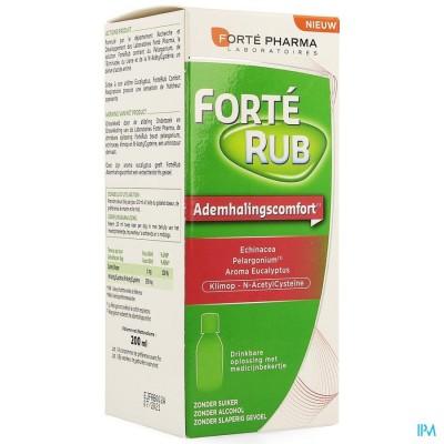 Forterub Confort Respiratoire Sirop 200 ml