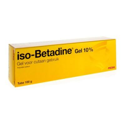 ISO BETADINE GEL TUBE 100 G