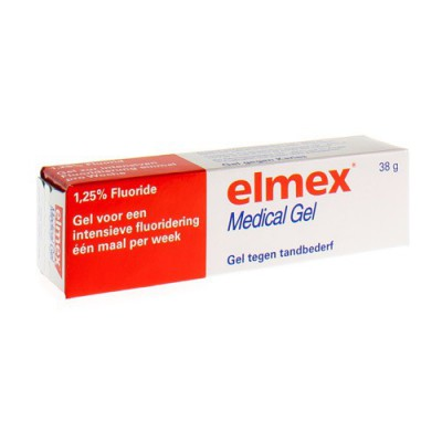 ELMEX MEDICAL GEL A/CARIES 38G