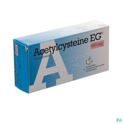 Acetylcysteine Eg 600mg Comp Eff. 30x600mg