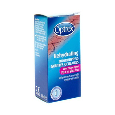 OPTREX GUTT OCUL. REHYDRATING 10ML