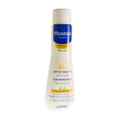 MUSTELA BB LAIT DE TOILETTE FL 200ML