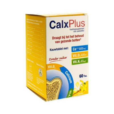 CALX-PLUS VANILLE COMP 60