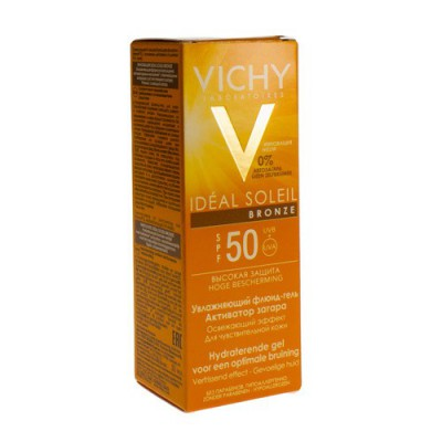 VICHY CAP IDEAL SOLEIL IP50 GEL BRONZE 50ML