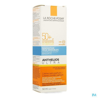 LRP ANTHELIOS ULTRA CREME IP50+ N/PARF 50ML