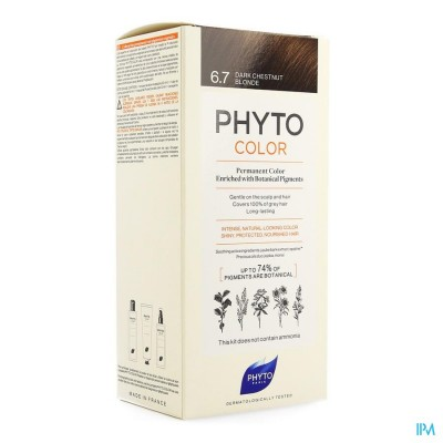 PHYTOCOLOR 6.7 BLOND FONCE MARRON