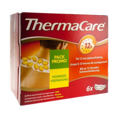 THERMACARE CP CHAUFFANTE NUQUE-EPAULE-POIGNET 2X3