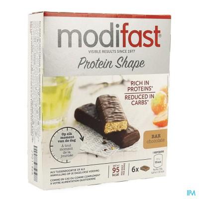 Modifast Protiplus Reep Pure Chocolade-chocola162g
