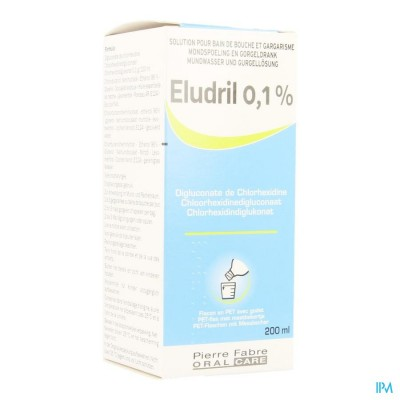 ELUDRIL 0,1% MONDSPOELING+GORGELDRANK+DOSEUR 200ML