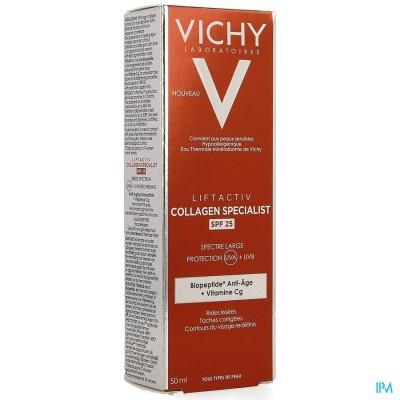 Vichy Liftactiv Collagen Specialist Ip25 50ml