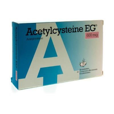 ACETYLCYSTEINE EG 600MG COMP EFF. 60X600MG
