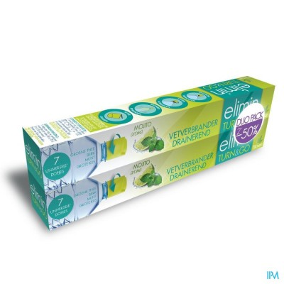 Elimin Turn&go Mojito Duo Pack Dopjes 2x7