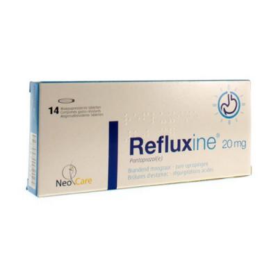 REFLUXINE CONTROL 20MG GASTRO RESIST COMP 14X20MG